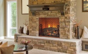 Mason-Lite Masonry Built Fireplaces